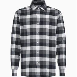 Calvin Klein Kariertes Hemd aus gebürstetem Twill Xxl Calvin Klein