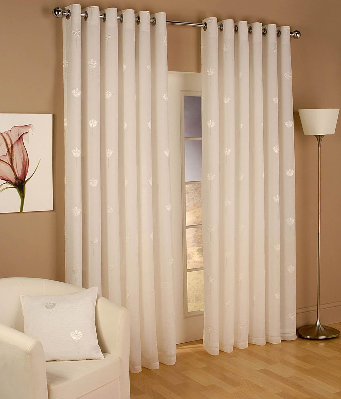 Miami Eyelet Voile Curtains