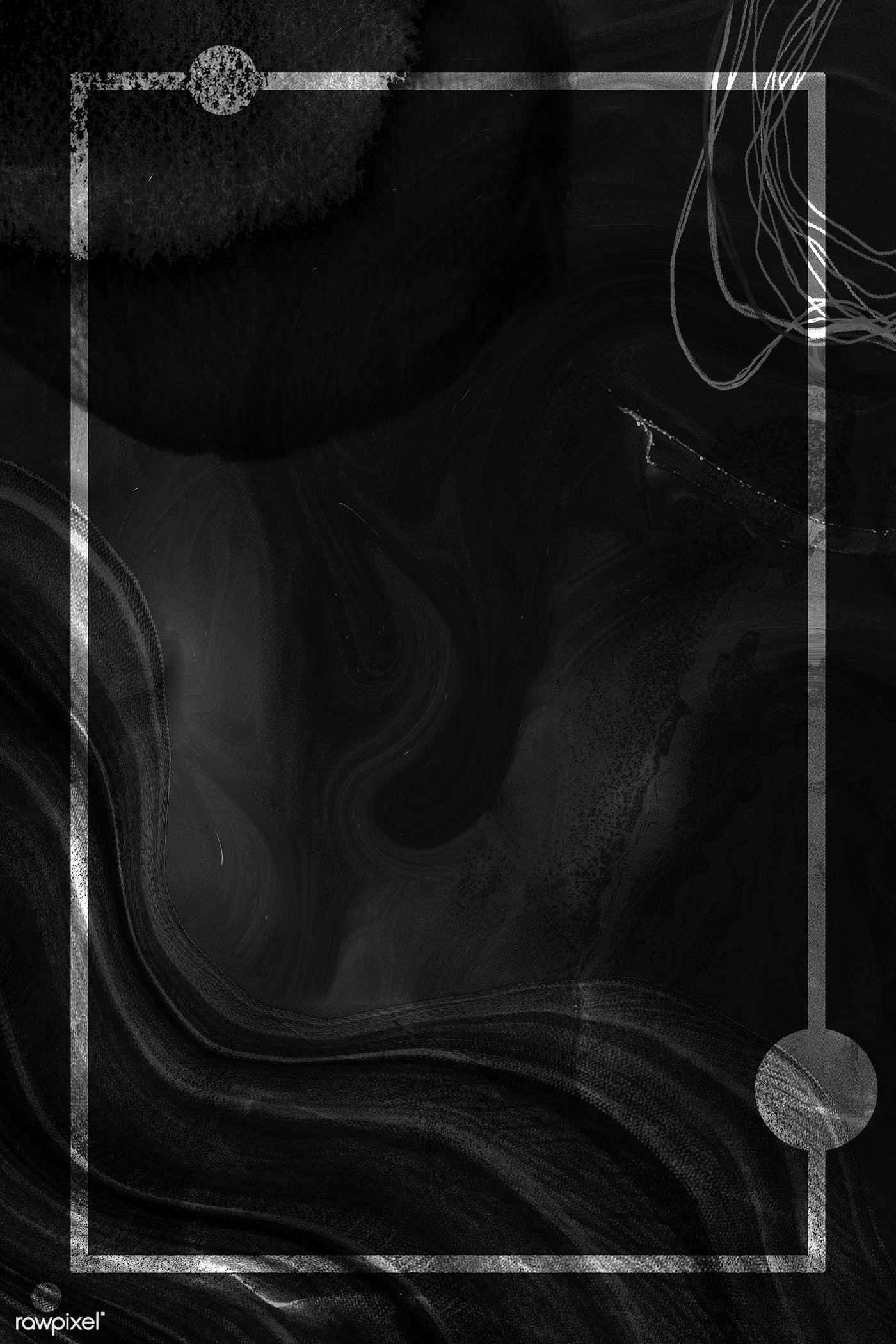 Download Premium Illustration Of Rectangle Frame On Neo Memphis Social Background Hd Wallpaper Instagram Frame Template Silver Background