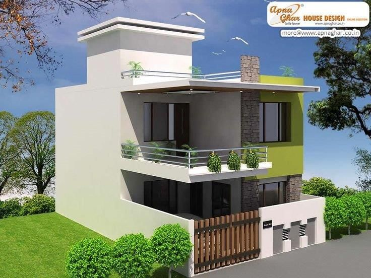 Superior 4 Bedroom Duplex House Plans India