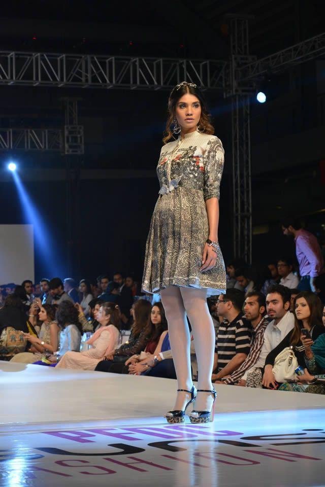 Fahad Hussayn PFDC Sunsilk Fashion Week collection 2015 Dresses