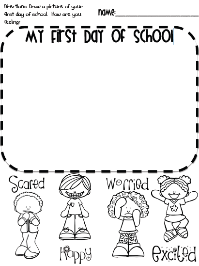 Worksheet Wednesday: Back to School Freebie ...
