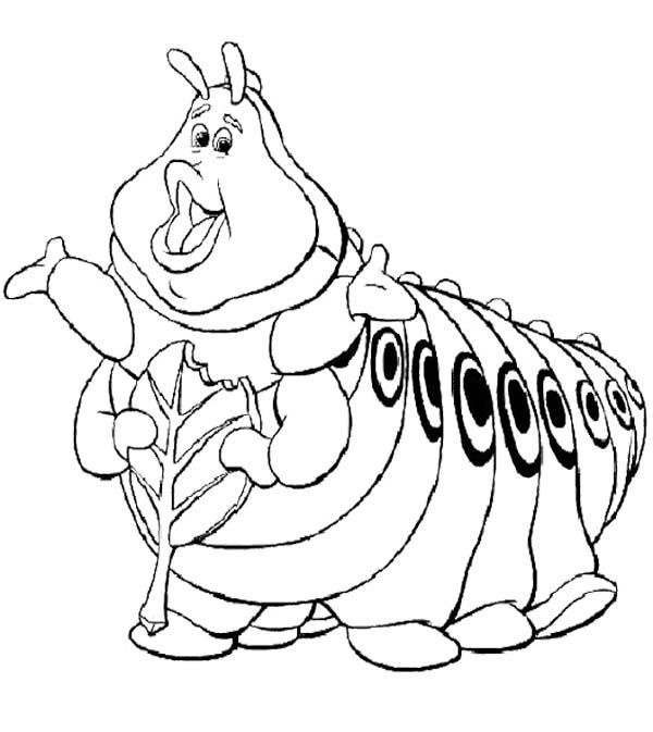 Friend Bugs Life Coloring Page