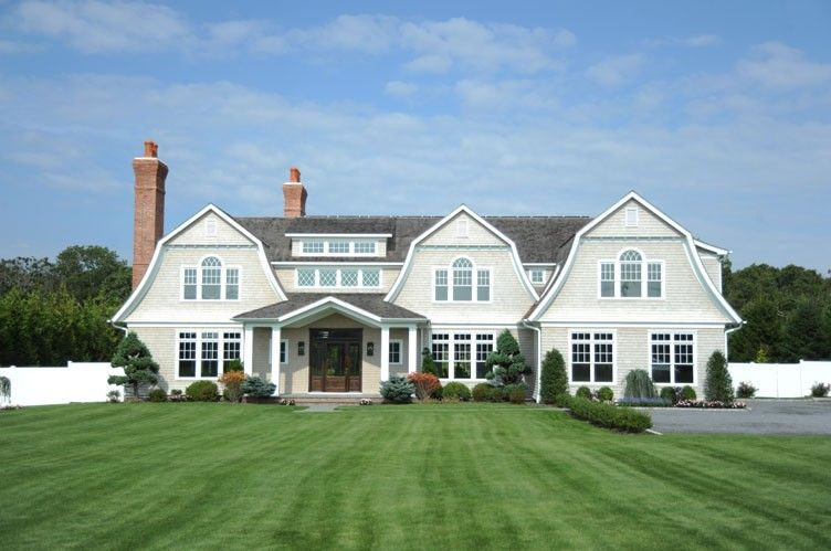 Designer Estate With Field Views From Every Room Bridgehampton