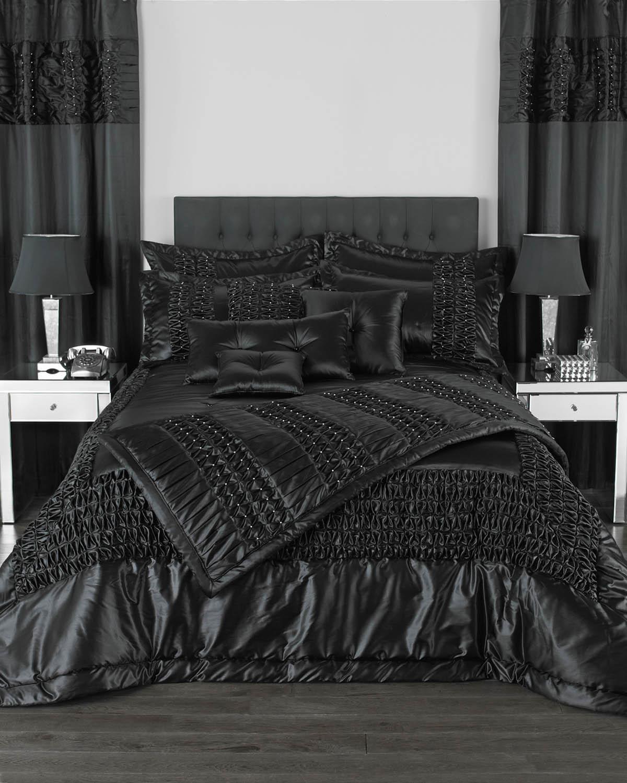Glitz Black Duvet Cover Bedding Set