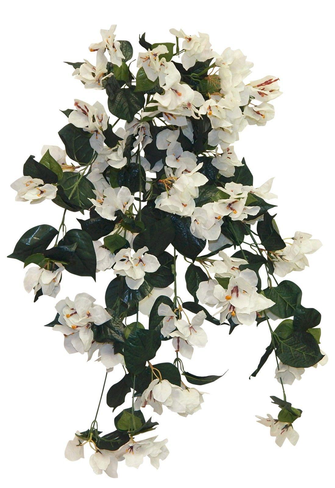 Flowers Petals And Garlands 20938 34 Cream Bougainvillea Hanging Bush Silk Flowers We Silk Flowers Wedding Artificial Wedding Bouquets Arch Decoration Wedding