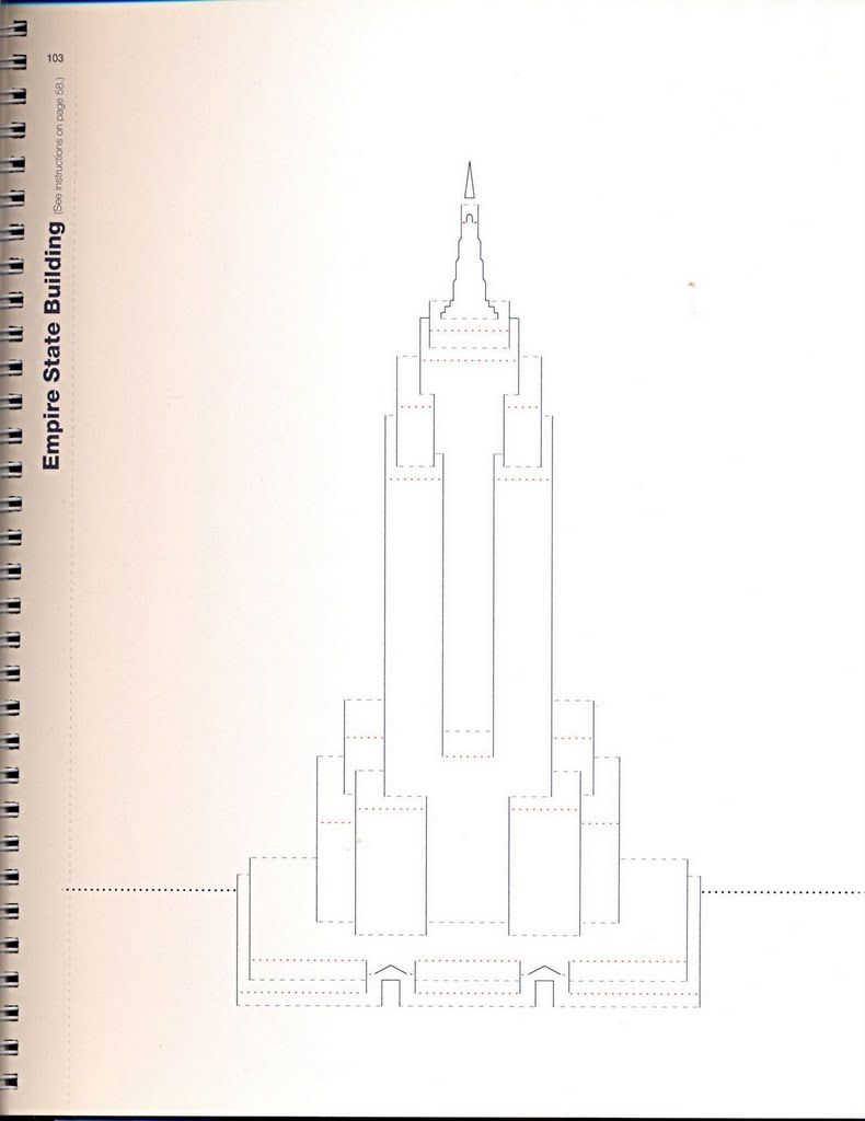 Kirigami Empire State Building