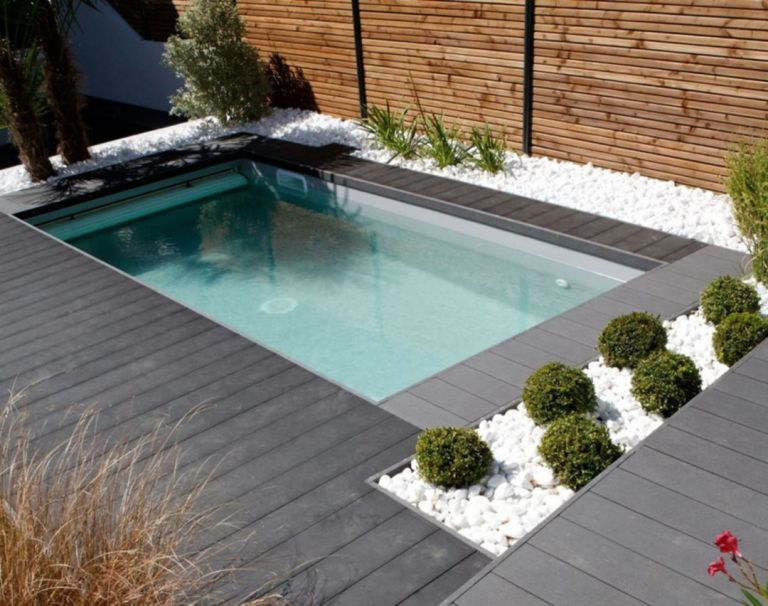 25 Amazing Minimalist Pool Decoration Ideas For Your Home