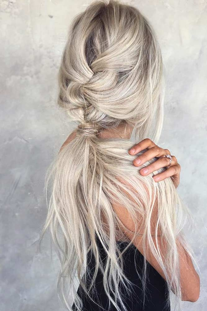 The Magic Of A Braided Ponytail | LoveHairStyles.com #messybraids