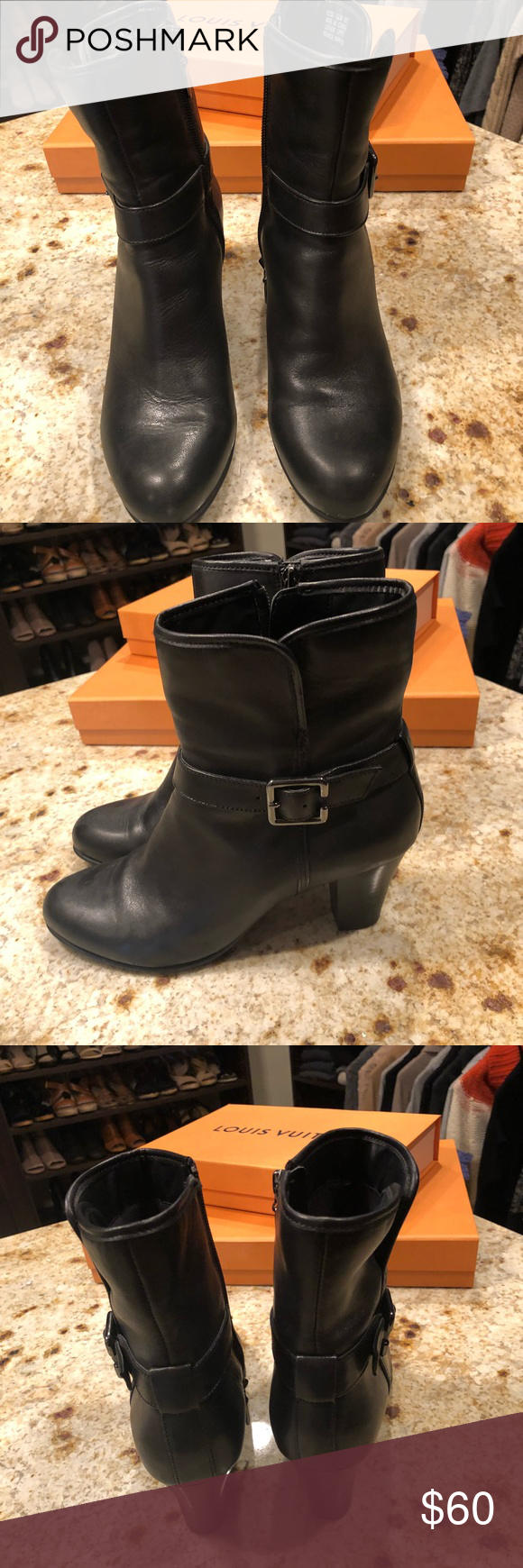 6e2e8471c5a Clark s black boot Clark s black boot. Excellent condition (worn a few  times only) Clarks Shoes Ankle Boots   Booties