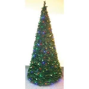 pull up christmas tree w led lights 6