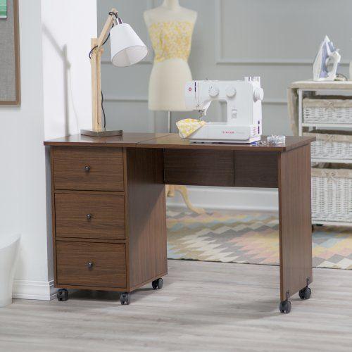 savannah folding mobile sewing desk furniture in 2019 sewing rh pinterest com