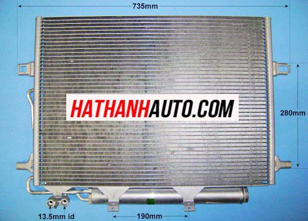 Dan nong xe Mercedes E200, Dàn nóng của xe ô tô chính hãng. Hotline : 0942399366 - 0961399499 để được tư vấn và báo giá
