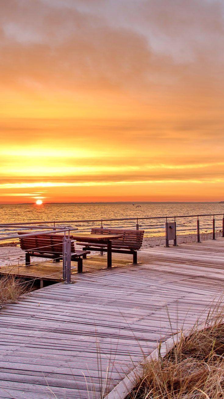 Herbst- & Winterstrand - Lübecker Bucht Ostsee #baltic