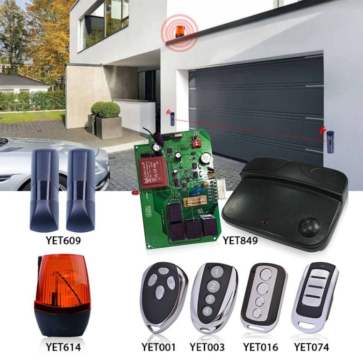 Smart Home Auto Garage Door Parts Alarm Systems For Home Shutters Home Alarm