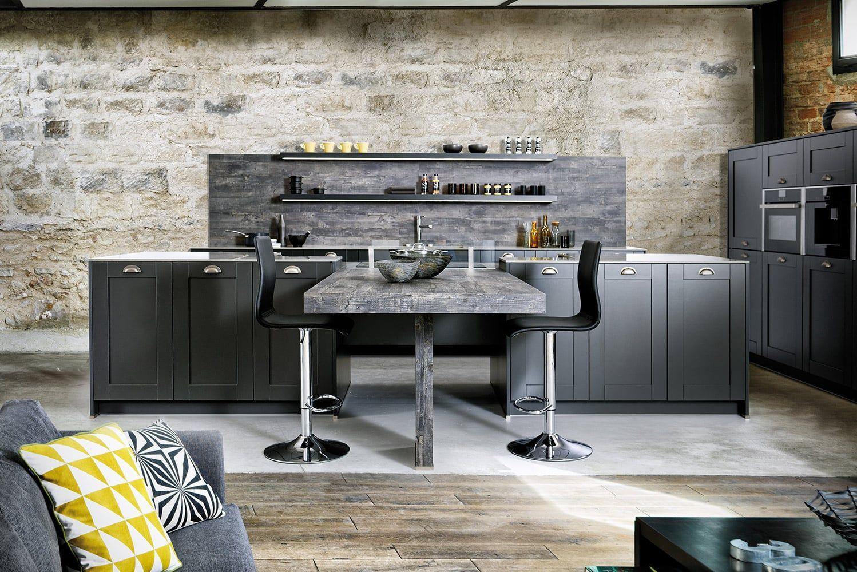 Küche Frame Caneo: Küche im angesagten Retro-Look ✓ Hochwertige ...