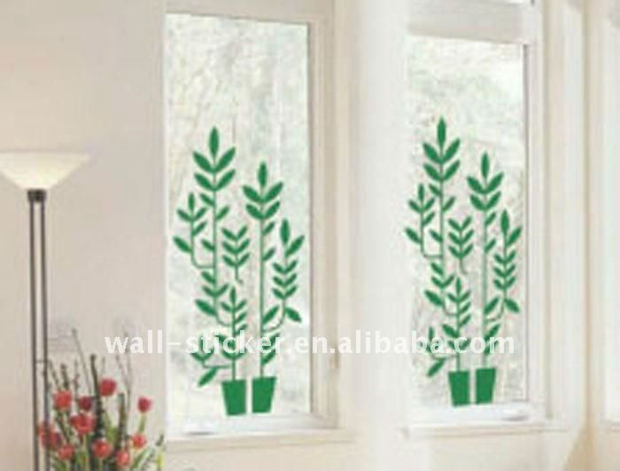 3d Fashion Tree Removable Window Stickers 1 Fashion Design 2 High