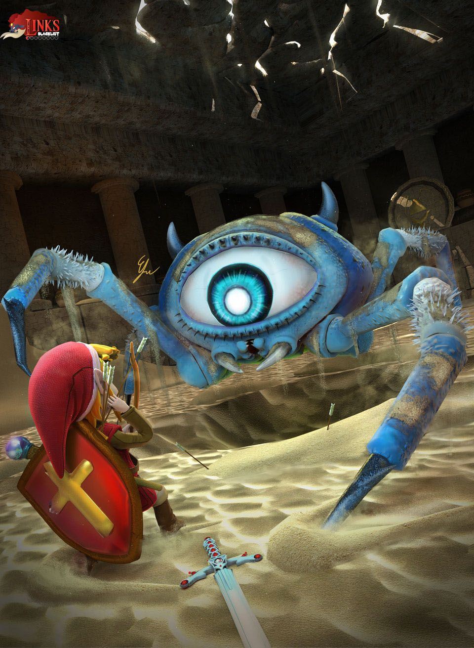 Gohma Legend of Zelda Link's Blacklist
