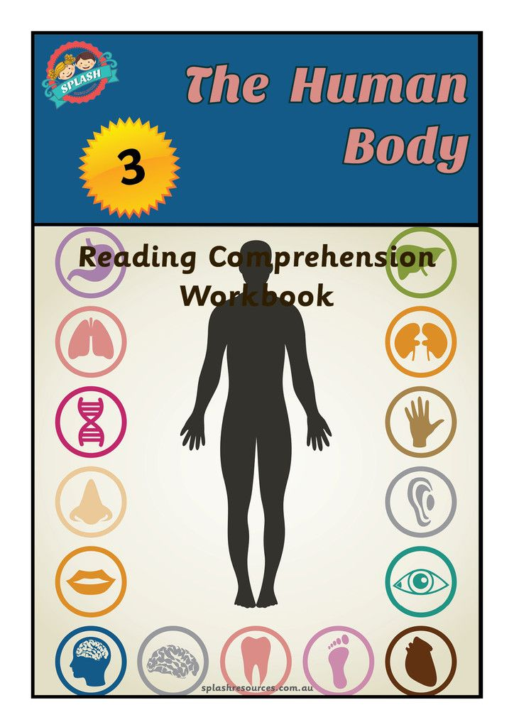 Reading Comprehension Workbook - The Human Body | Reading ...