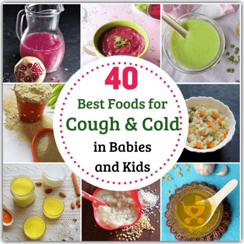 Feeding Babies Toddlers When They Re Sick With A Cough Is Not Easy Check Out These 40 Best Foods For Cough And Cold Baby Food Diet Food When Sick Sick Food