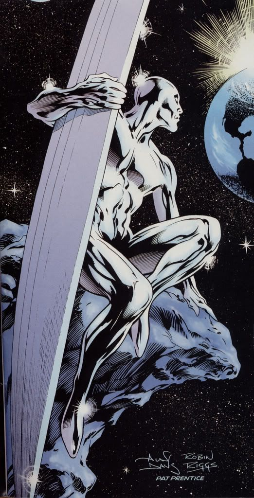 Silver Surfer ross marvel frost four ramos kirby lee deodato surfer bianchi men