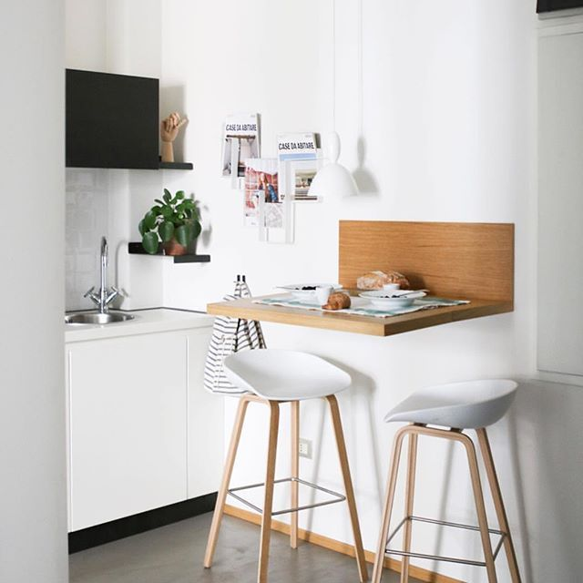 Via Emma B Utrecht Hay About A Stool Kitchen Verdenius Scandinavian Kitchen Design Small Tiny Kitchen Breakfast Bar Kitchen