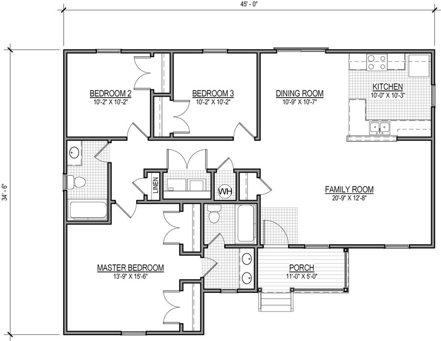 Caroline Mitchell Homes Virginia Home Builders House Plans Ranch House Plan House Floor Plans