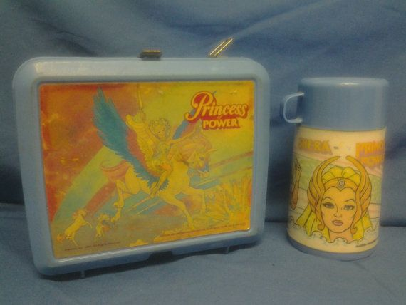 Shera Princess of Power Lunchbox by LyonsCraftsVintage on Etsy, $10.00
