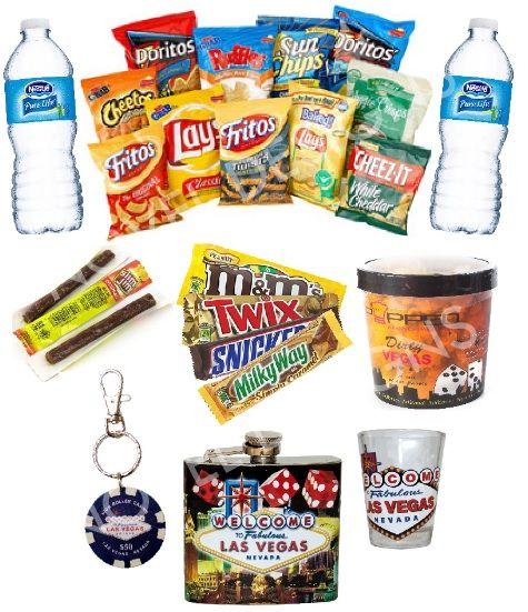 Novel Designs Las Vegas Souvenir & Snack Gift Basket
