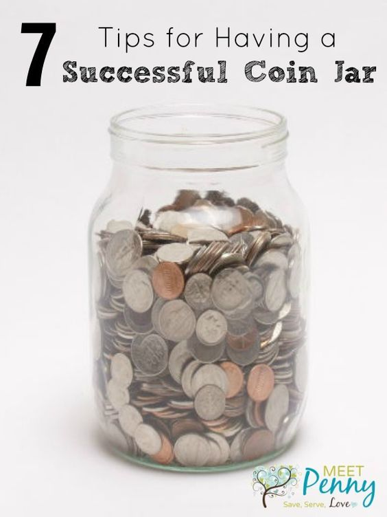 7 Tips For Having A Successful Coin Jar Meet Penny Money Saving Jar Coin Jar Saving Money