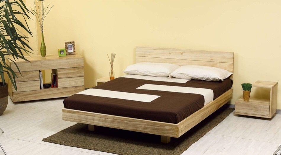 Il letto giapponese bali è realizzato in faggio lamellare ed è ...