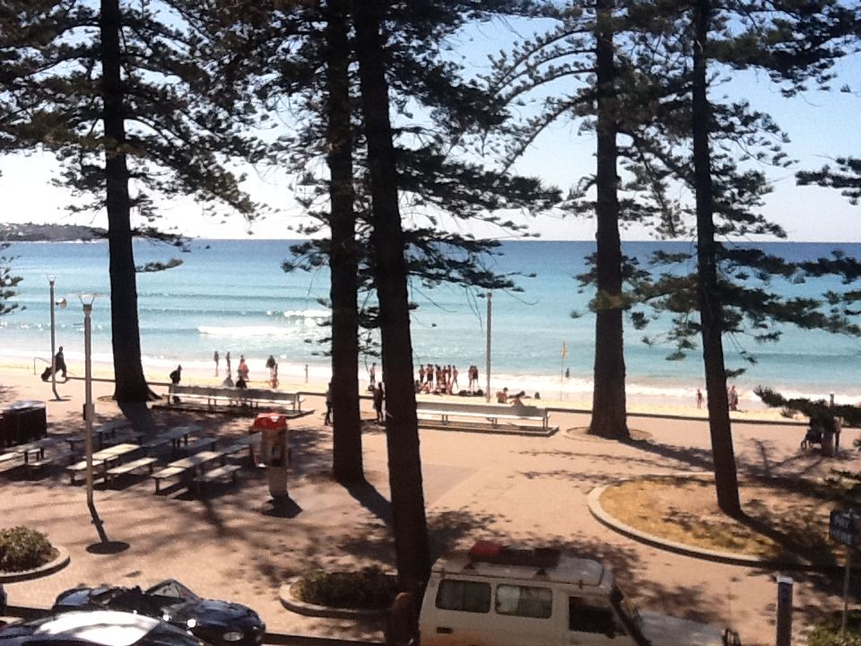 Sydney Australia The View From Sebel Hotel At Manly Beach