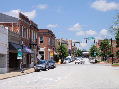 Trade Street In Greer Sc My Hometown In 2019 South