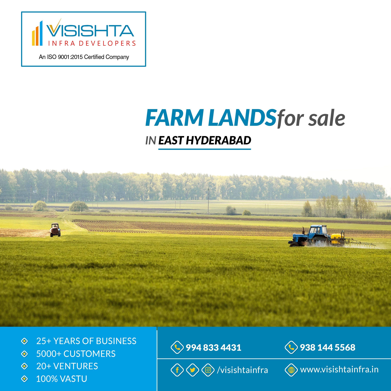 Farm Lands For Sale in Yadadri Visishta Infra Developers