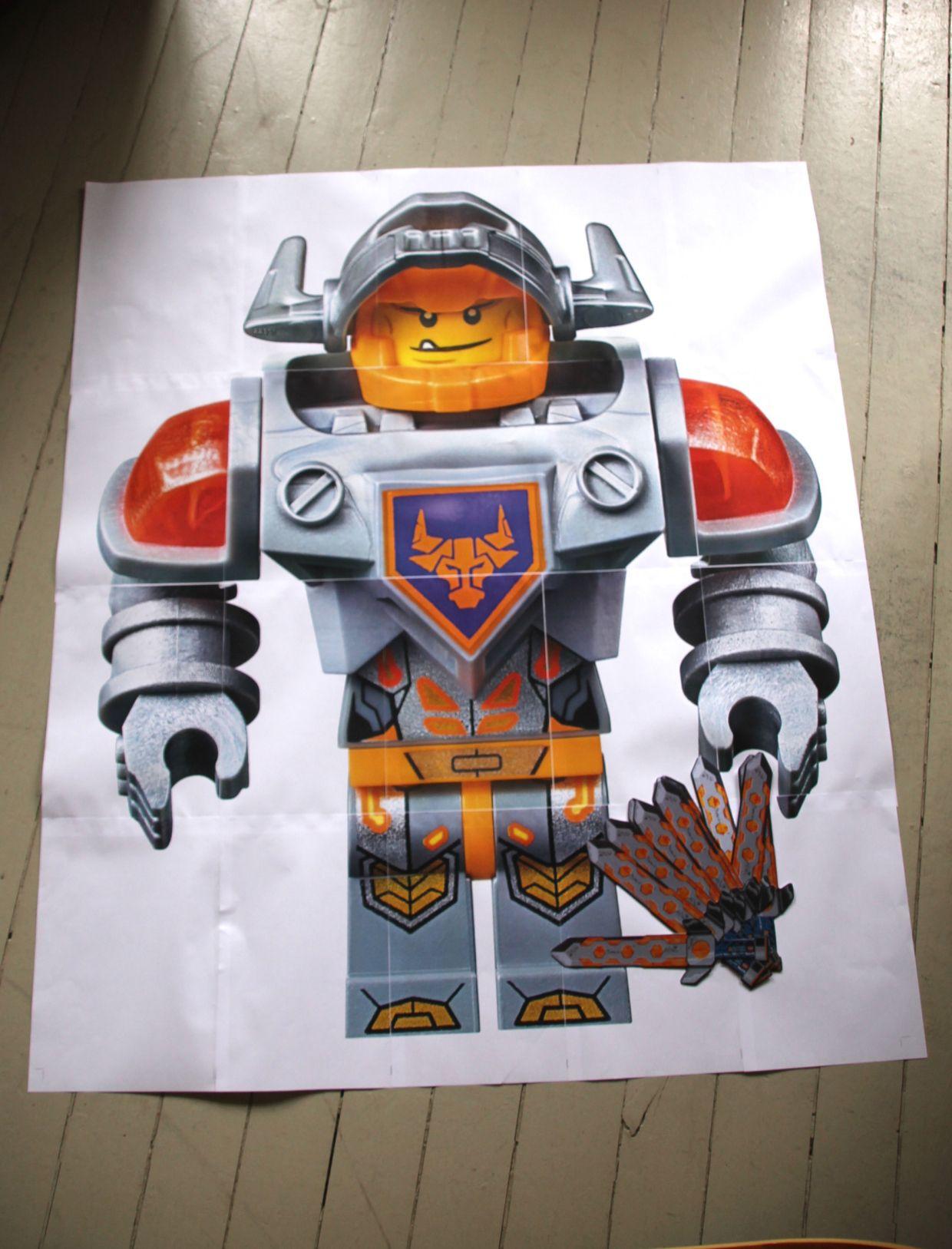 Lego Nexo Knights Ausmalbilder Clay : Kindergeburtstag Lego Nexo Knights Auf Stadtschwalben Com Nexo