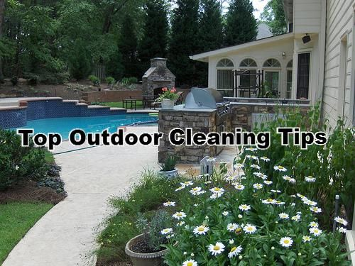 Top Tips for Tidying Outside Areas in Time for Summer!