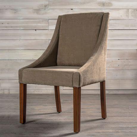 Mobica 4 000 propuesta elegante y sofisticada silla for Sillas de comedor tapizadas modernas