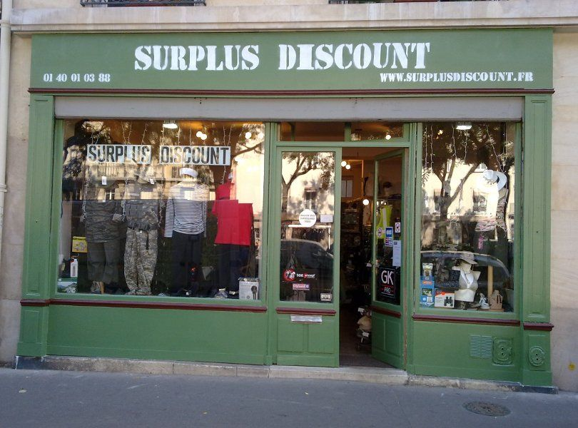 Prymacontact, Horaires et adresse de LA BOUTIQUE Surplus Discount ... c6ad1d380d0