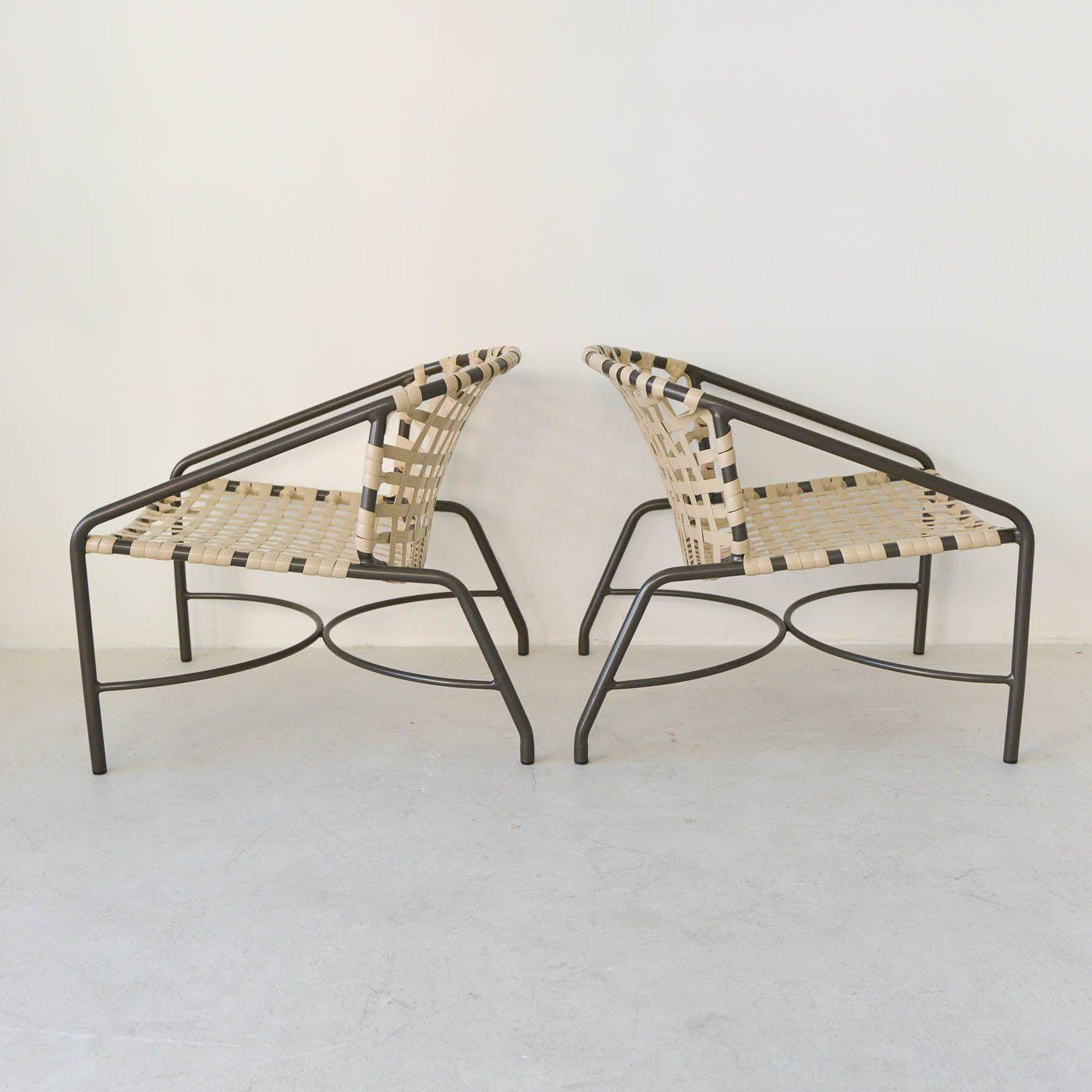 Sold Vintage Kantan Chairs By Tadao Inouye For Brown Jordan The Modern Vault Brown Jordan Patio Chairs Chair