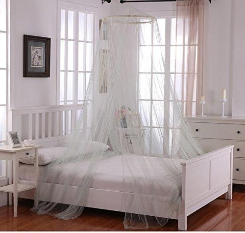 Girls Sage Grey Hanging Brown Bed Canopy Ceiling Bed Frame | Canopy ...
