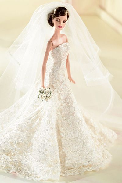 Our Favorite Wedding Day Barbies Barbie Wedding Dress Doll Wedding Dress Barbie Bridal