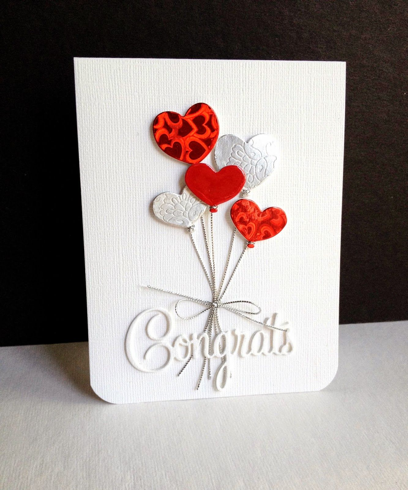 hand crafted love/anniversary/wedding card from I\'m in Haven ...