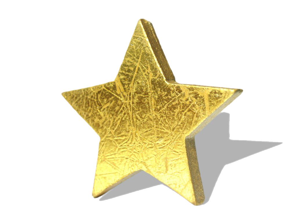 Gold Star Png Image Gold Stars Star Clipart Transparent Background