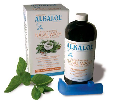 Alkalol - A Natural Soothing Nasal Wash, Mucus Solvent and