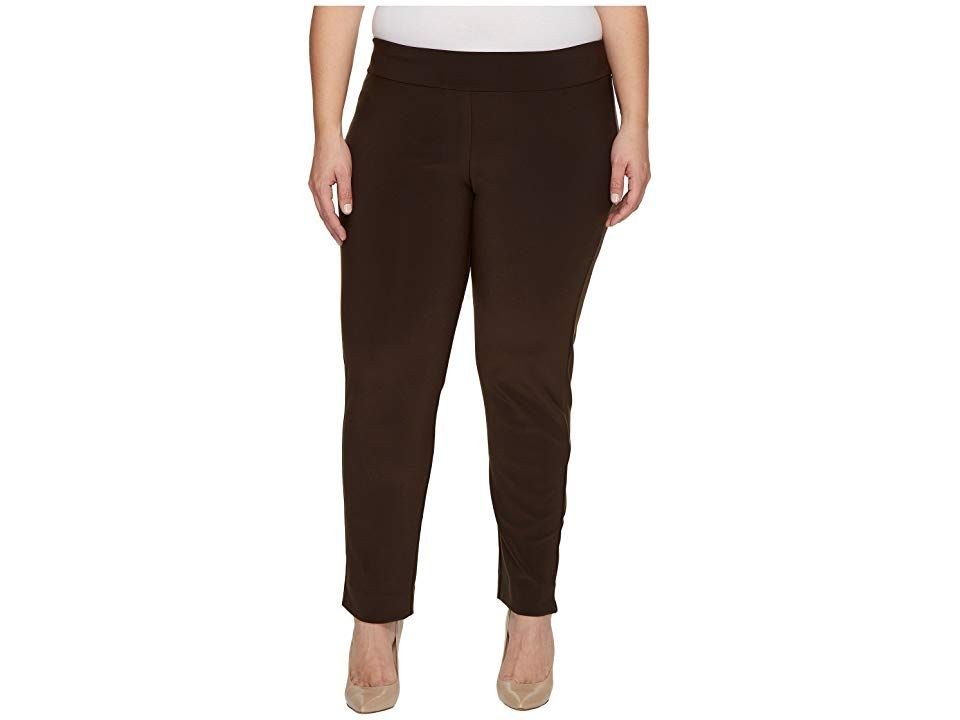 Krazy Larry Plus Size Microfiber Long Skinny Dress Pants ...