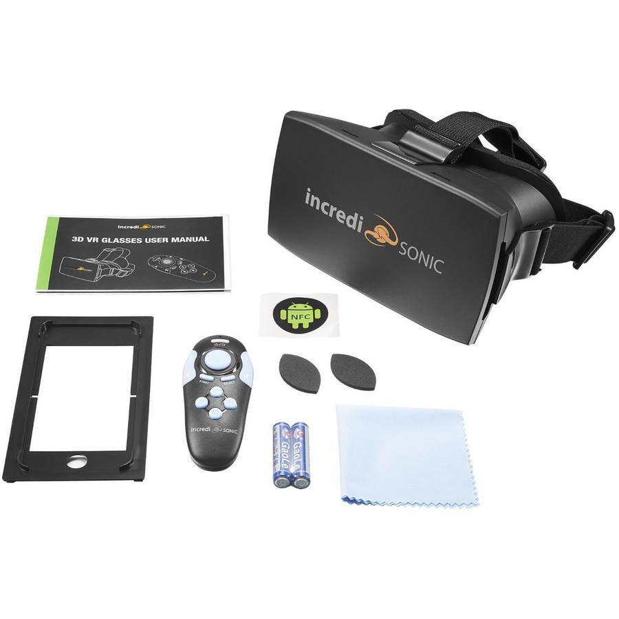 985675001ea7 IncrediSonic M700 VUE Series 3D VR Virtual Reality Glasses Bluetooth Headset   Incredisonic