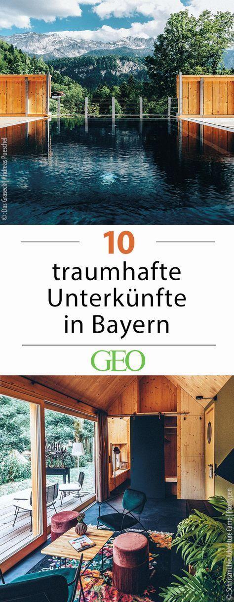Münchener Umland: Zehn Unterkünfte am See #favoriteplaces