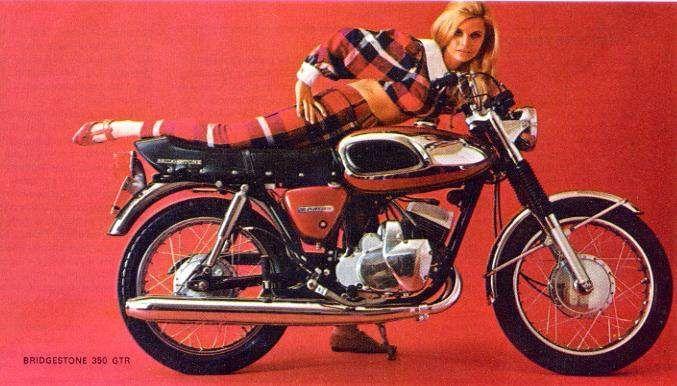 Bridgestone Gtr 350 Bridgestone Classic Motorcycles Japanese Motorcycle