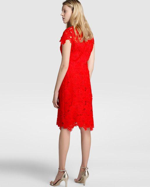 Vestido rojo mujer el corte ingles