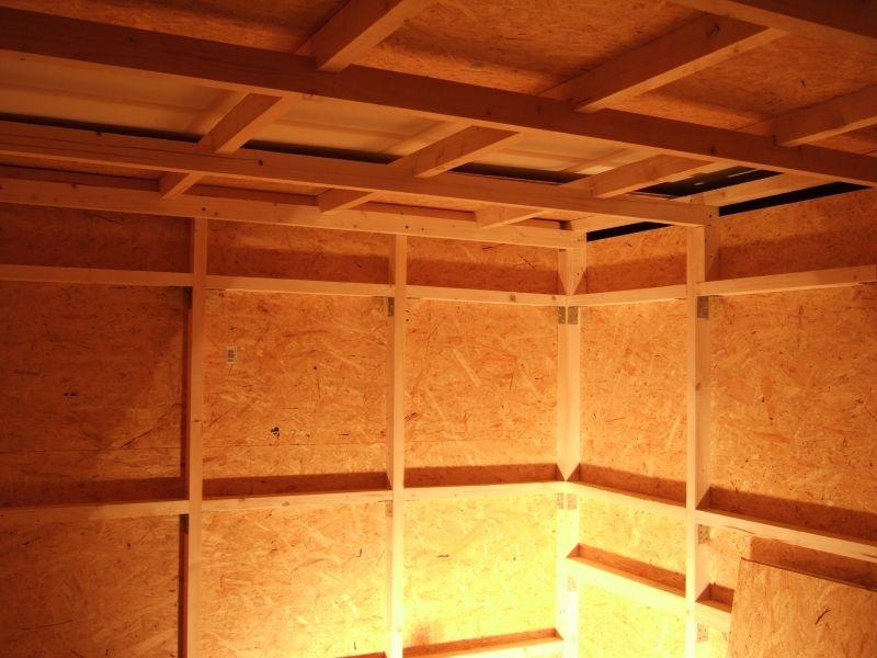 Saunabau Sauna Selbst Bauen Aussenverkleidung Bau